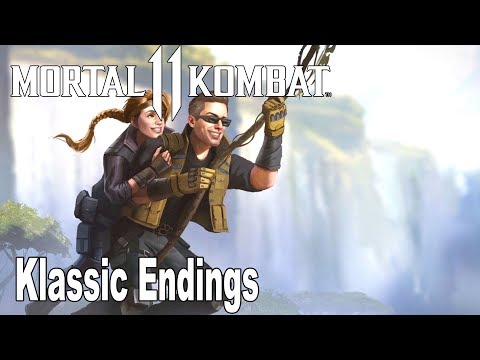 Mortal Kombat 11 - All Klassic Endings [HD 1080P]