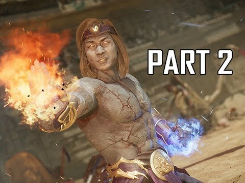 MORTAL KOMBAT 11 Walkthrough Part 2 - Liu Kang (MK11 Story Let's Play Commentary)