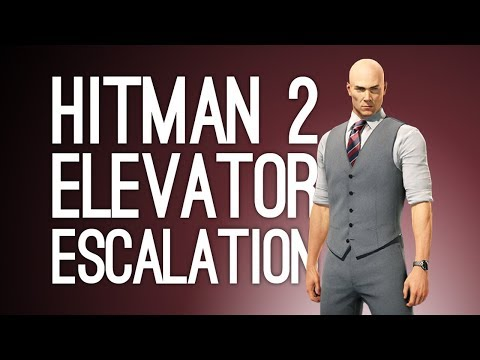 Hitman 2 Escalation Gameplay: ELEVATOR OF DOOM (Let's Play The Hirani Evacuation Escalation)