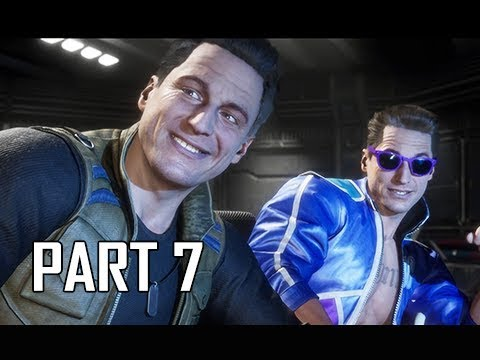 MORTAL KOMBAT 11 Walkthrough Part 7 - Johnny Cage (MK11 Story Let's Play Commentary)