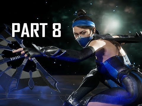 MORTAL KOMBAT 11 Walkthrough Part 8 - Kitana (MK11 Story Let's Play Commentary)