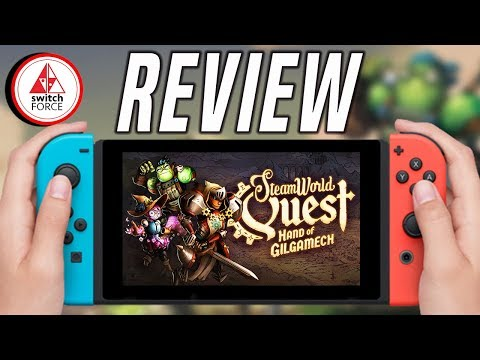 SteamWorld Quest Review - New King of eShop?!