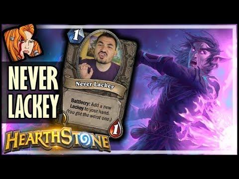 KRIPP IS NEVER LACKEY! - Rise of Shadows Hearthstone