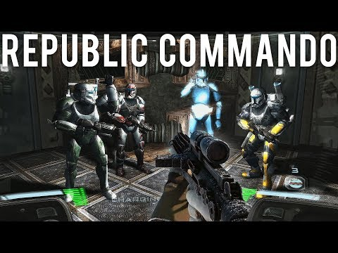 Star Wars Republic Commando was awesome!