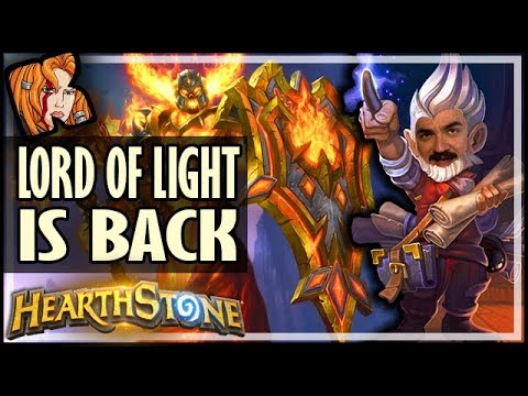 The LORD OF LIGHT Has Returned - Rise of Shadows Hearthstone