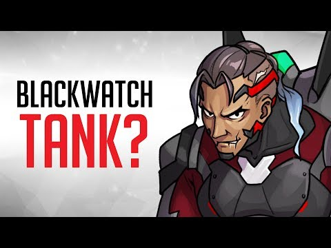NEW Overwatch Hero Concept: Blackwatch Tank