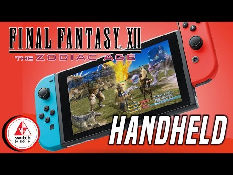 Final Fantasy 12 Switch Handheld Mode - Is It Good Enough?!