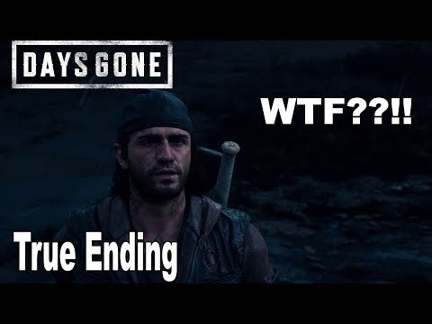 Days Gone - True Ending Epilogue Cutscene Days Gone 2 Confirmed? [HD 1080P]