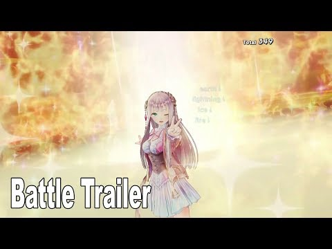 Atelier Lulua: The Scion of Arland - Battle Trailer [HD 1080P]