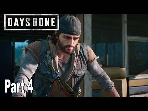 Days Gone - Walkthrough Part 4 No Commentary [HD 1080P]