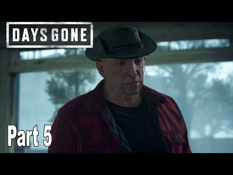 Days Gone - Walkthrough Part 5 No Commentary *Spoilers* [HD 1080P]