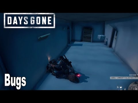 Days Gone - Bugs Compilation [HD 1080P]