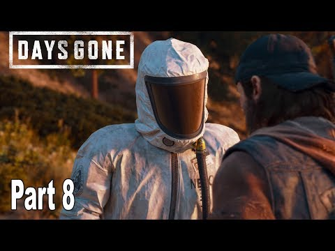 Days Gone - Walkthrough Part 8 No Commentary [HD 1080P]