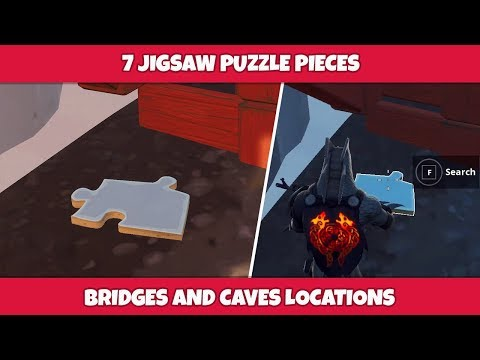 follows - fortnite find puzzle pieces under bridges and in caves