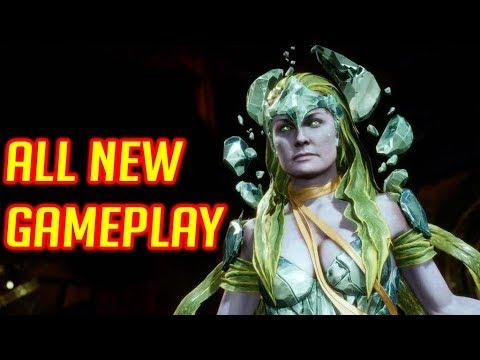 Mortal Kombat 11 :  All New Gameplay & Moves Breakdown ( D'Vorah, Cetrion, & Kitana )