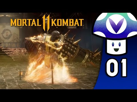 [Vinesauce] Vinny - Mortal Kombat 11 (PART 1)