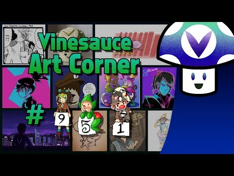 [Vinebooru] Vinny - Vinesauce Art Corner (PART 951)