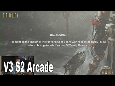 For Honor - V3 Season 2 Arcade Updates [HD 1080P]