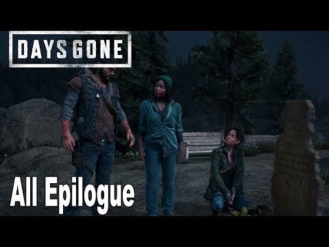 Days Gone - All Epilogue Cutscenes *Spoilers* [HD 1080P]