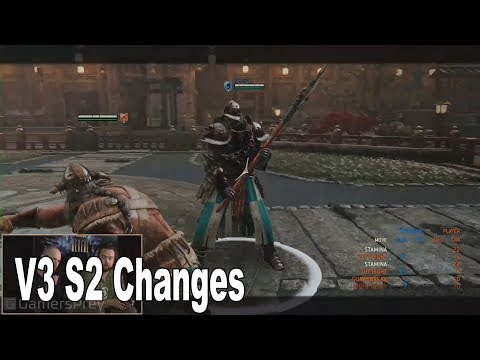 For Honor - V3 Season 2 Hero Changes and Balancing [HD 1080P]