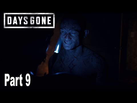 Days Gone - Walkthrough Part 9 No Commentary *Spoilers* [HD 1080P]
