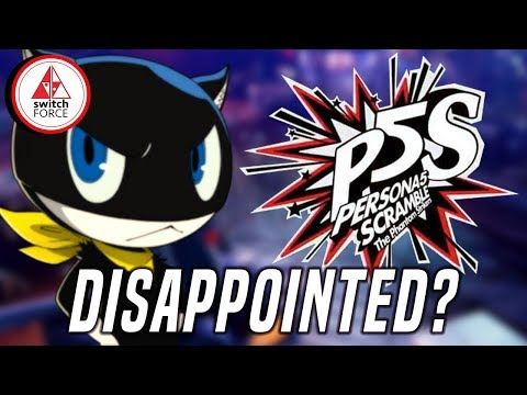 This Is NOT The Persona 5 We Wanted On Switch...