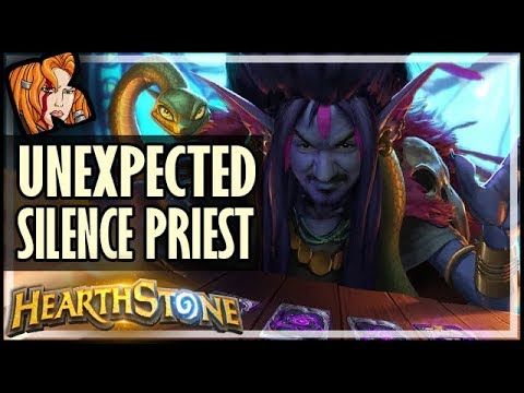 Silence Priest Where You Least Expect It! - Rise of Shadows Hearthstone