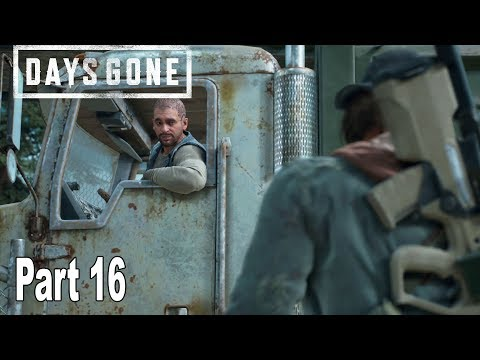 Days Gone - Walkthrough Part 16 No Commentary [HD 1080P]