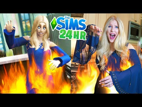 LIVING Like MY SIM For 24 HOURS! - Challenge