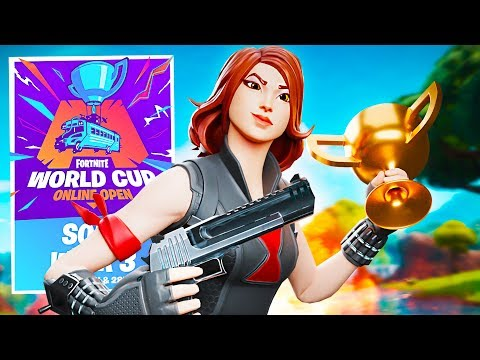 Fortnite $1,000,000 World Cup Qualifiers! (Fortnite Battle Royale)