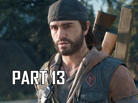 DAYS GONE Walkthrough Part 13 - Fever (PS4 Pro Let's Play)