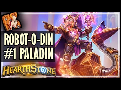 ROBOT-O-DIN Is The #1 Paladin Deck In Rise of Shadows