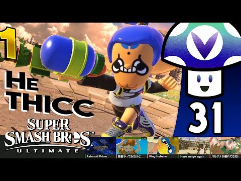 [Vinesauce] Vinny - Super Smash Bros. Ultimate (PART 31) + ONE Art!