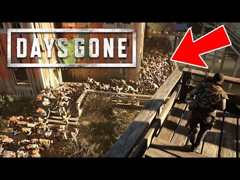 1,000,000 ZOMBIES HORDE!! (Days Gone, Part 2)