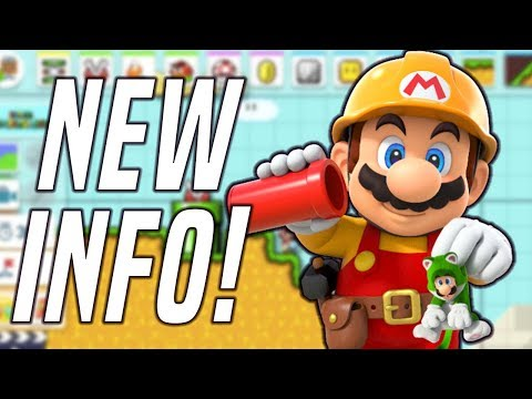 BRAND NEW Super Mario Maker 2 Details + NEW Gameplay (May 1st Update)