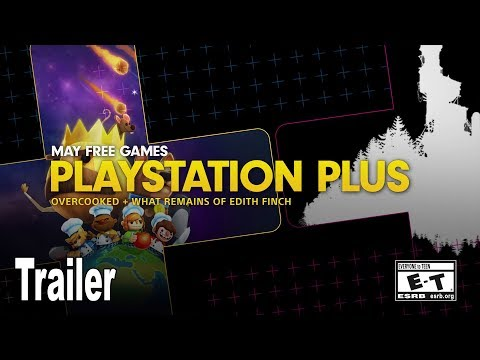 PlayStation Plus - Free Games Lineup May 2019 Trailer [4K 2160P]