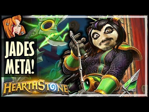 JADES ARE BACK IN THE META?! - Rise of Shadows Hearthstone