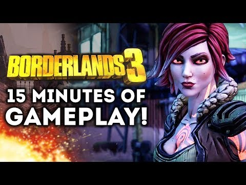 Borderlands 3 - New Gameplay Walkthrough Part 1!  Amara Siren! Character Customization! Lillith!