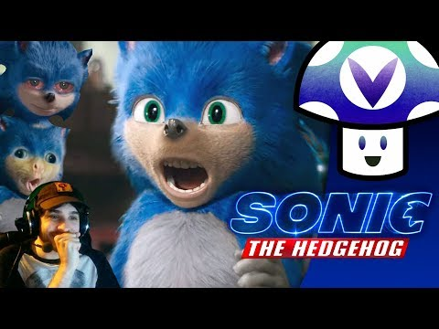 [Vinesauce] Vinny - Sonic the Hedgehog Movie Trailer Reaction