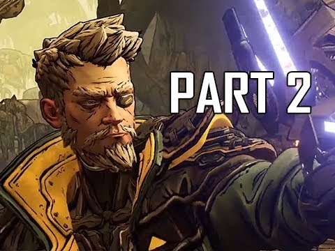 BOSS GIGAMIND - BORDERLANDS 3 Walkthrough Part 2 - Zane the Operative (Reveal Gameplay)