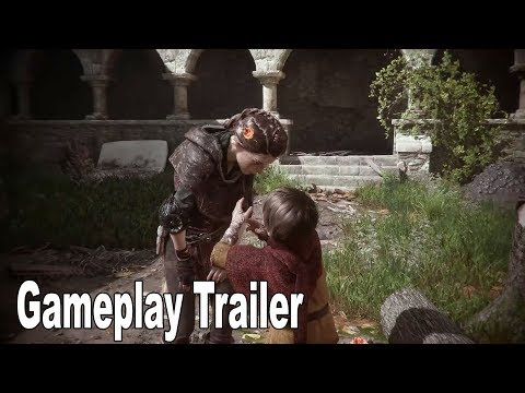 A Plague Tale: Innocence - Gameplay Trailer [HD 1080P]