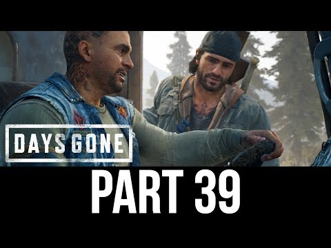 DAYS GONE Part 39 Gameplay Walkthrough - ANOTHER BIG HORDE (Full Game)