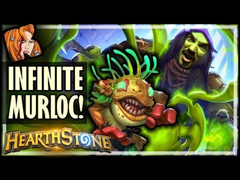 THE INFINITE MURLOC, MURLOC - Rise of Shadows Hearthstone