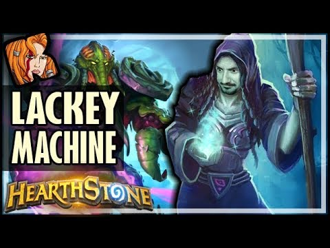 THE LACKEY MACHINE - Rise of Shadows Hearthstone