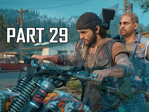 DAYS GONE Walkthrough Part 29 - Call that a Knife? (PS4 Pro Let's Play)