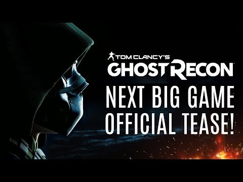 Next Big Ghost Recon Game Official Tease! Reveal Date! Is It Wildlands 2?  Trailer + Gameplay Soon!