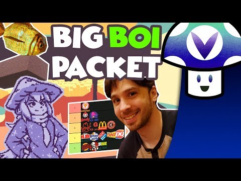 [Vinesauce] Vinny - Big Boi Packet & Fast Food Tier List