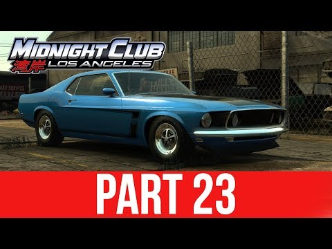 MIDNIGHT CLUB LOS ANGELES XBOX ONE Gameplay Walkthrough Part 23 - FREE MUSTANG 69