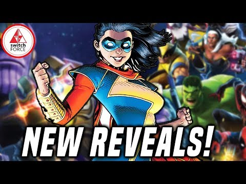 New Playable Characters Revealed For Marvel Ultimate Alliance 3!