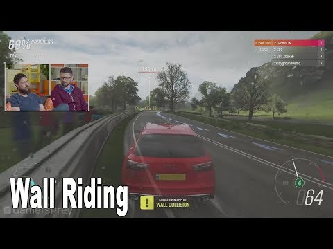 Forza Horizon 4 - Update 9 Wall Riding Details [HD 1080P]